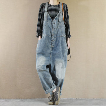 Women Fashion Adjustable Shoulder Straps Overalls