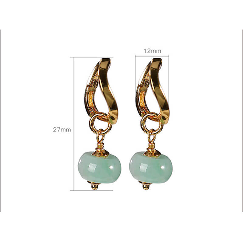 Women Fashion Simple Silver Retro Earrings(2 Pieces)
