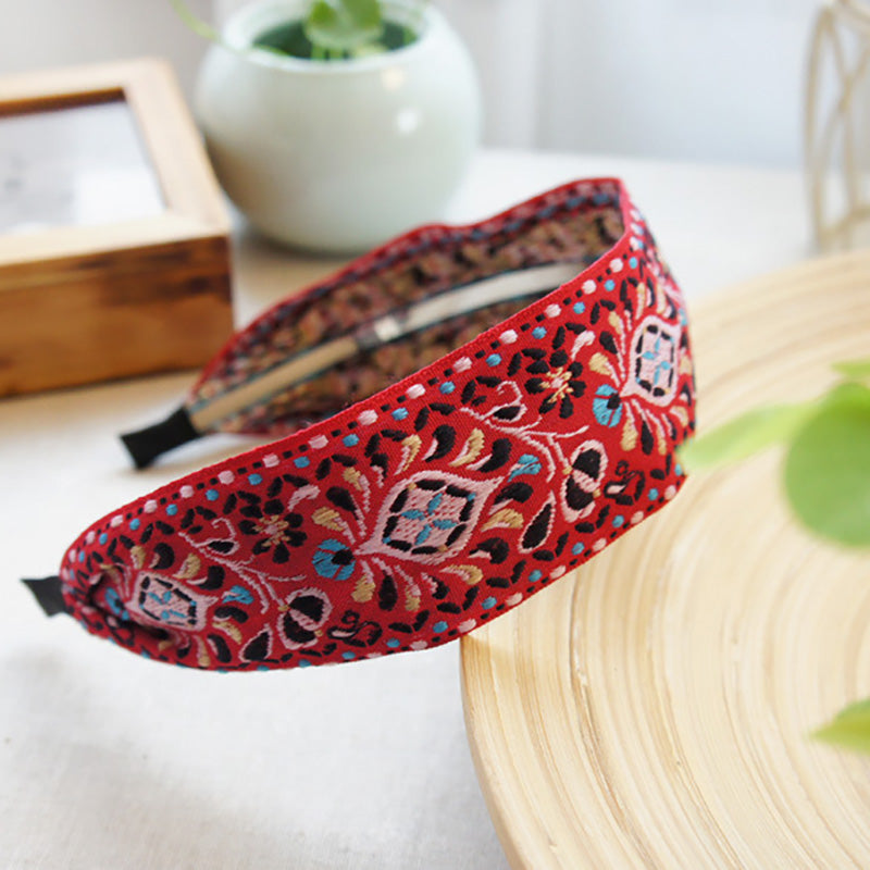 Women Handmade Fabric headband(3 Pieces)