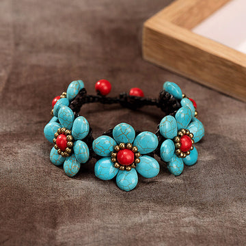 Women Handmade Fashion Woven Retro Bracelet
