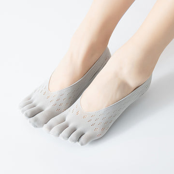 Women Hollow Out Summer Toe Socks (5 Pairs)