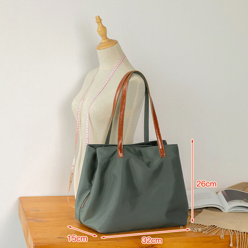 Women Large Capacity Canvas Shoulder Bag