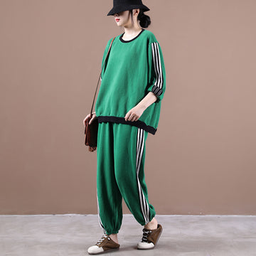 Women Loose Casual Sport Two Piece Sets