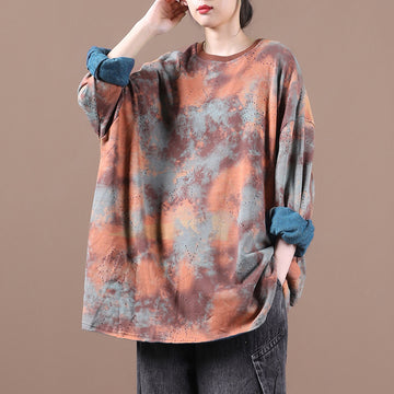 Women Loose Hollow Hole Cotton Blouse