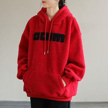 Loose Thicken Warm Hoodie