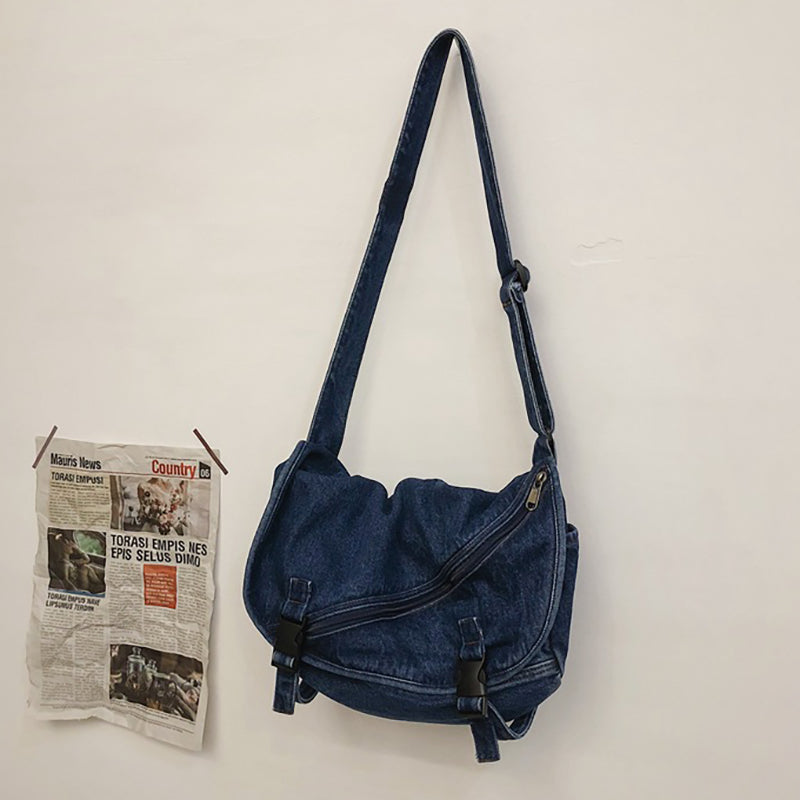 Women Retro Canvas Crossbody Bag