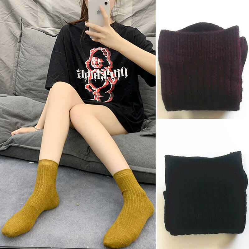 Women Winter Thick Warm Plush Socks(3 Pairs)