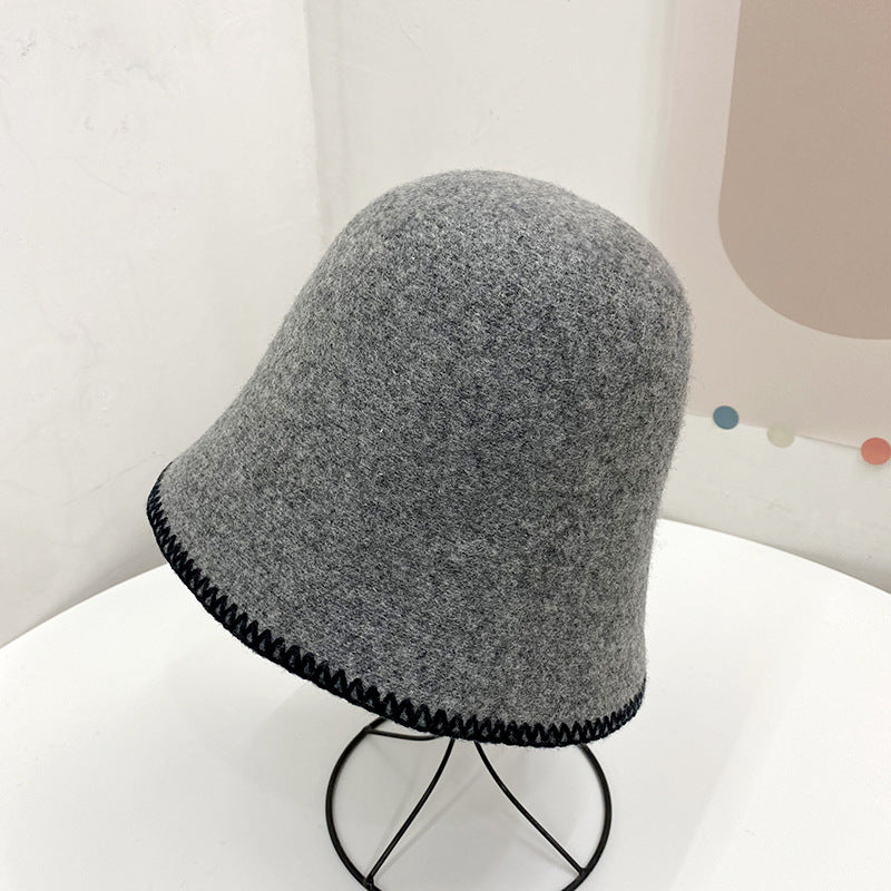 Women Winter Warm Knitted Cloche Hat(2 Pieces)