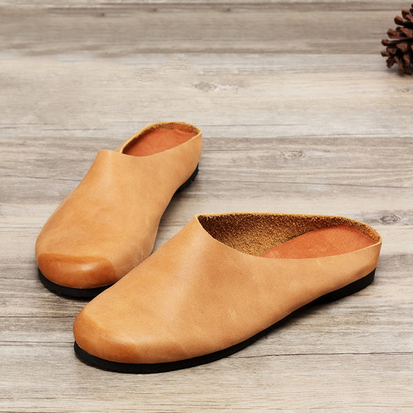 Women Leather Breathable Lightweight Sandals