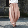 Women Loose Casual Linen Harem Pants