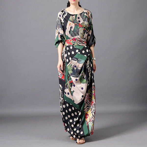Women Personality Design Halter Maxi Dress