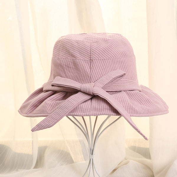 Women Solid Bow Fashion Casual Hat