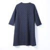 Women Spring Casual Dot Cardigan X-Long Long Sleeve Coat