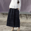 Women Spring Jacquard Plaid Casual A-Line Skirt