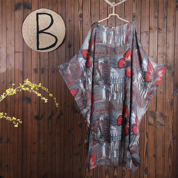 Women Summer Casual Print X-Long Pullover Long Sleeve Sets