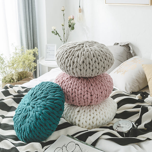 Woven Soft Sofa House Decoration Pillow