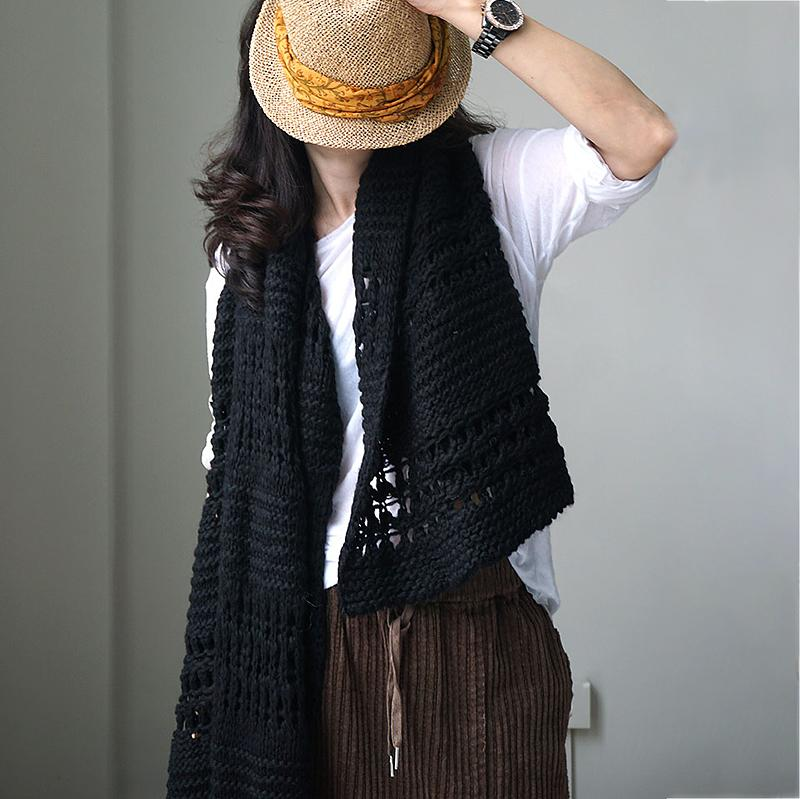 Casual Keep Warm Hollow Women Scarf