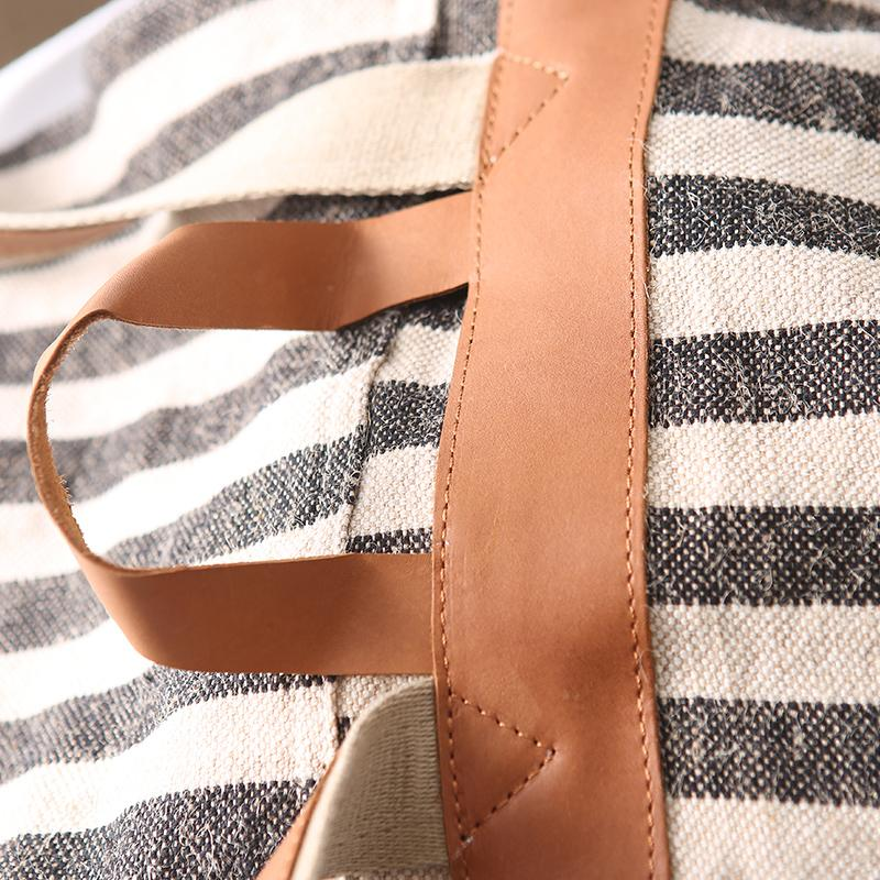 Casual Commuter Striped Backpack