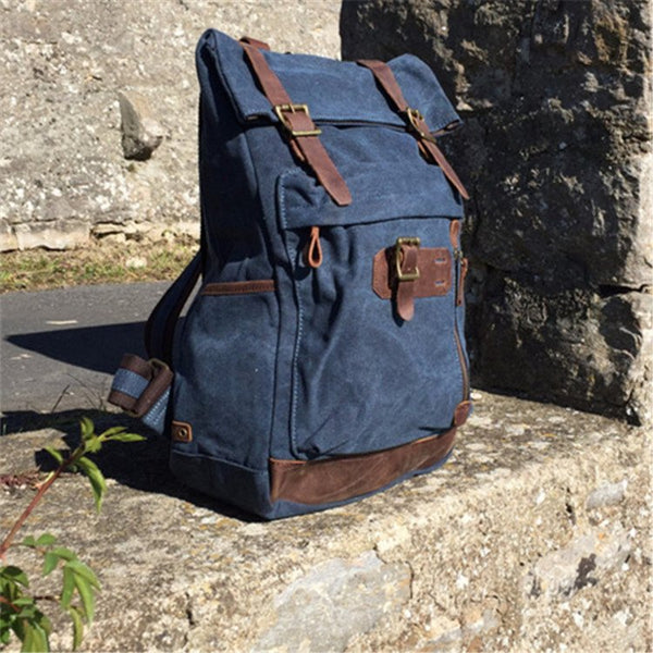 Bag - Canvas Jeans Backpack