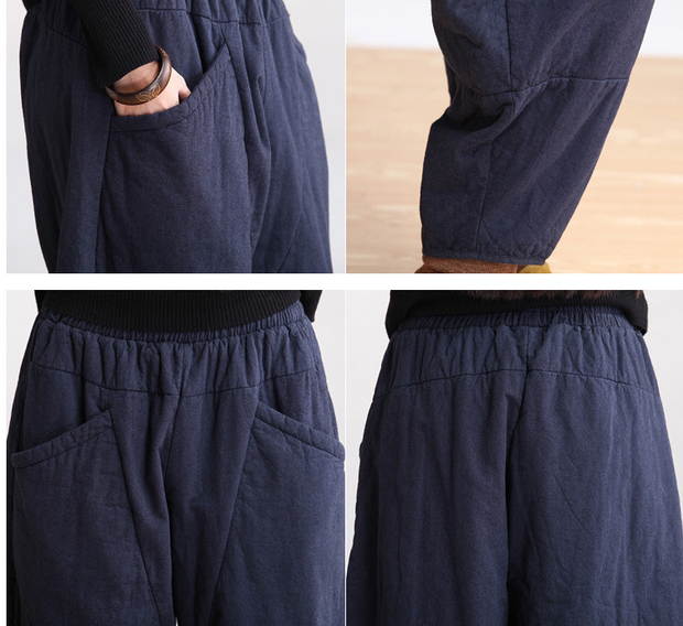 Cotton spring and winter pants - Buykud