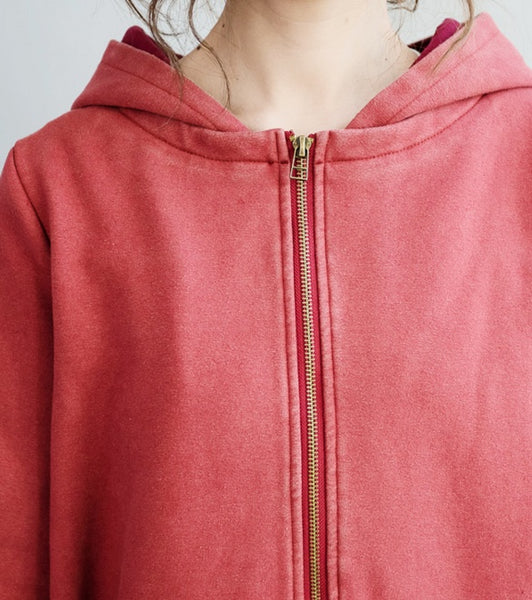 Casual Loose Cotton Cashmere Hooded