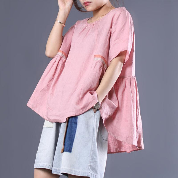 2019 Summer New Cotton Loose Fashion Shirt