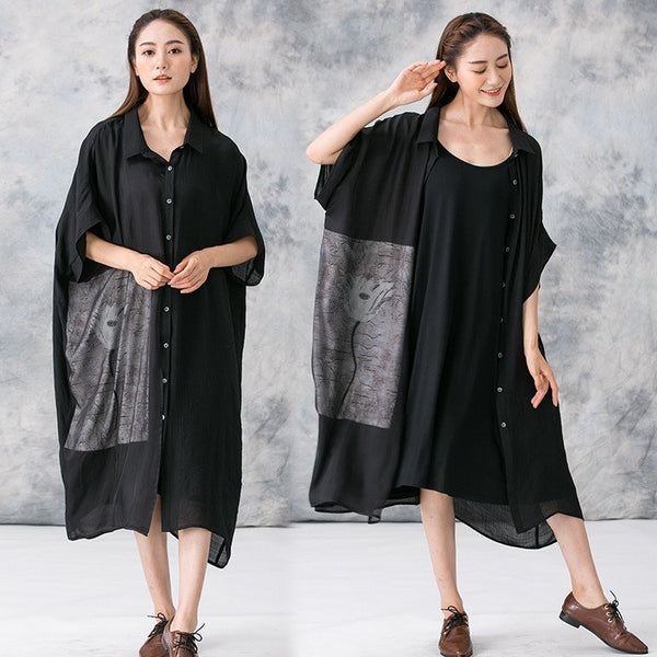 Coat - Women Summer Loose Coat