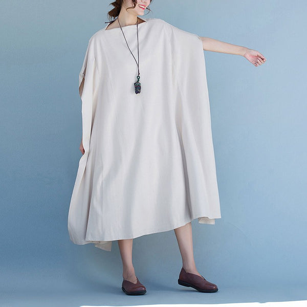 Dress - Women Cotton Summer Loose Dress