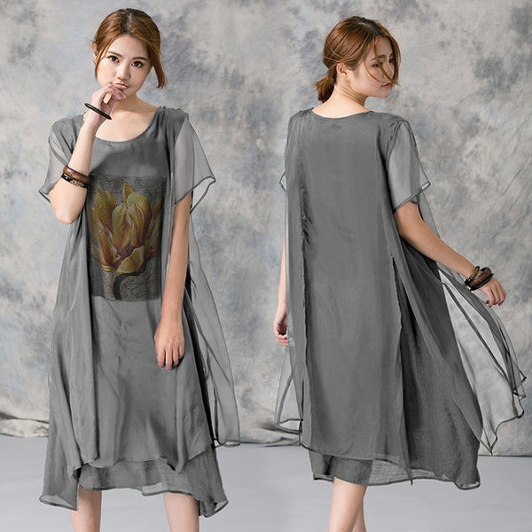 Dress - Women Summer Loose Dress