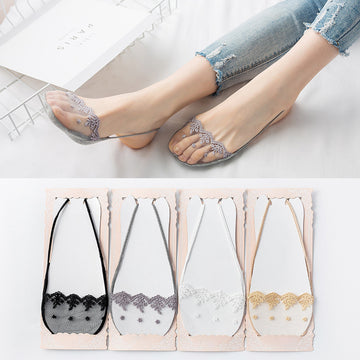 Lace Wome Transparent Summer Socks