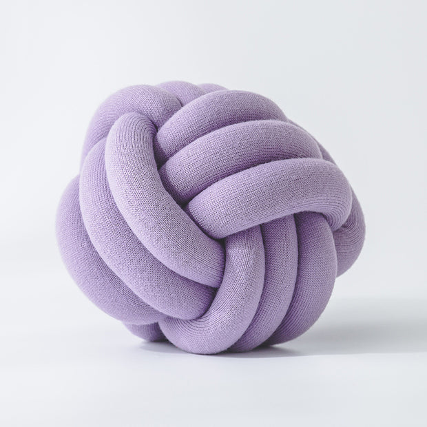 Knot Shape Soft Acrylic Sofa Decoration Pillow
