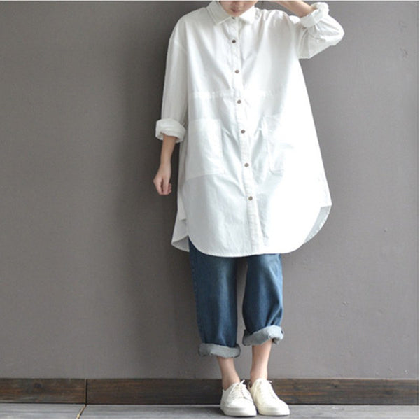 Long loose shirt - Buykud