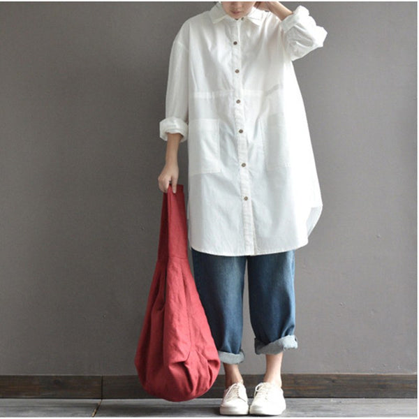 Top - Long Loose Shirt