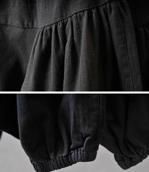 Women  Autumn And Winter Cotton Linen Pants