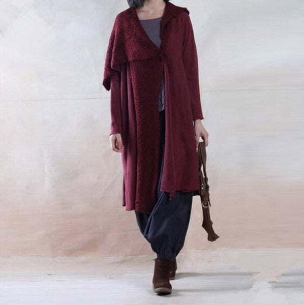 Women Autumn And Winter Wool Coat