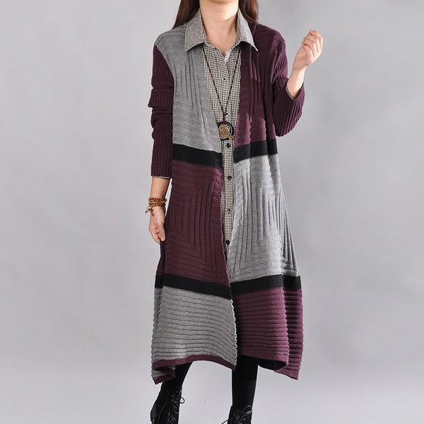 Women Casual Loose Autumn Knitting Sweater Coat