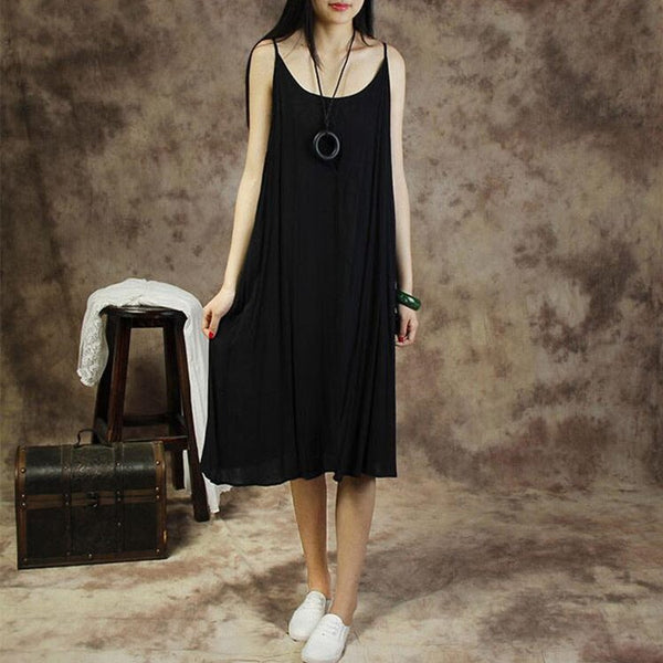 Women cotton braces skirt - Buykud