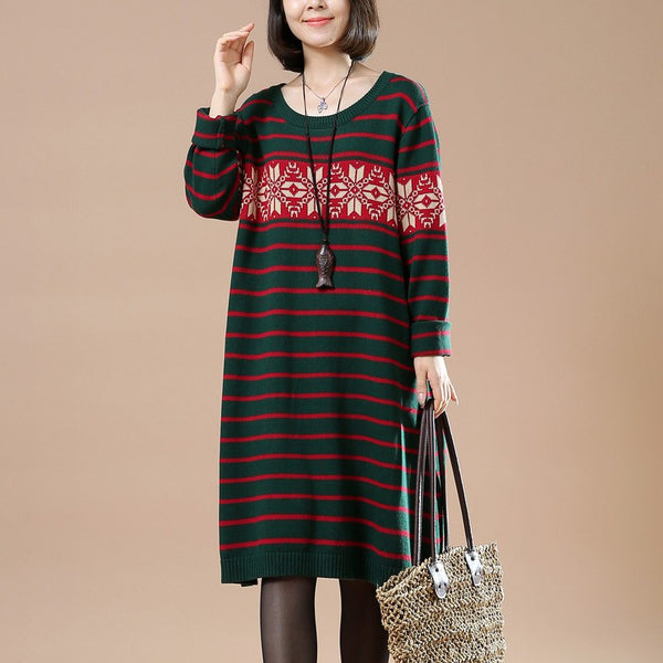 Women cotton Knitted sweater - Buykud