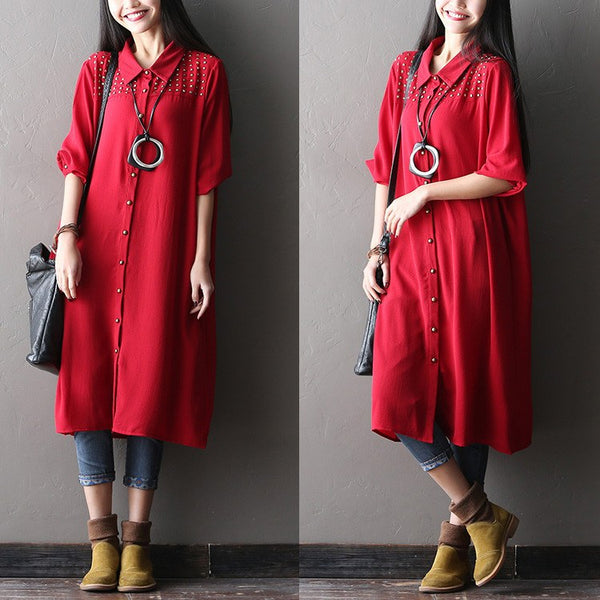Women Spring Chiffon  Dress