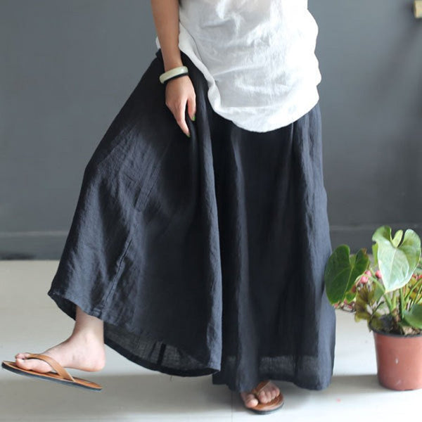 Women Summer Cotton Linen Pant