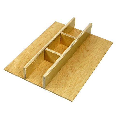 Custom economy narrow utensil drawer organizer