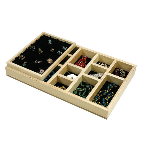 Jewelry Tray Organizer Insert GCL24201 22 38 wide and 11 to