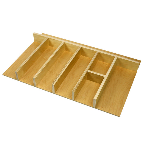 Custom economy wide utensil drawer organizer