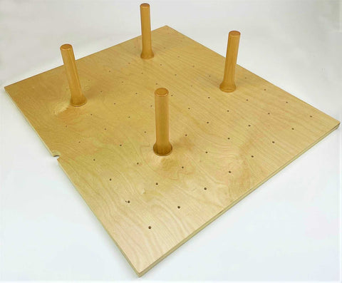 "Small Peg Board (PS-01)  Interior Drawer Dimension Range: Width 15 1/4"" - 24 5/16"", Depth 15 1/4"" - 21 5/16"", Minimum Height Clearance 6 5/8""."