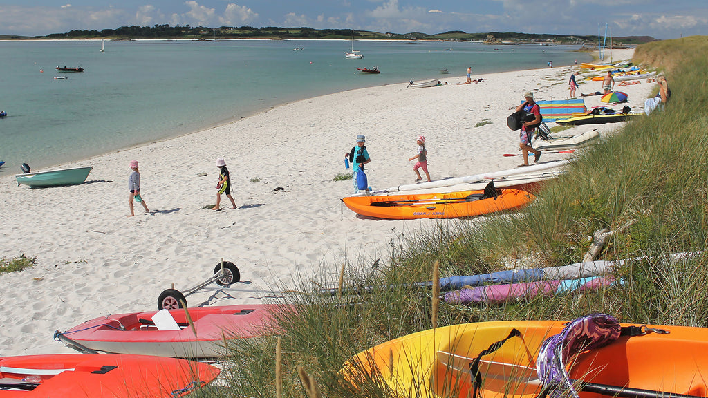 Campsite Beach, St Martin's, Isles of Scilly