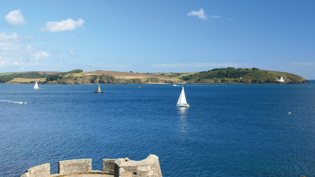Carrick Roads and St Anthony Lighthouse