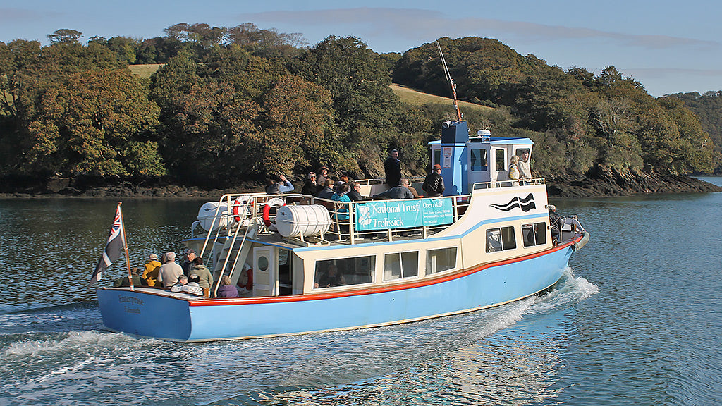 Ferry to Trelissick on the River Fal
