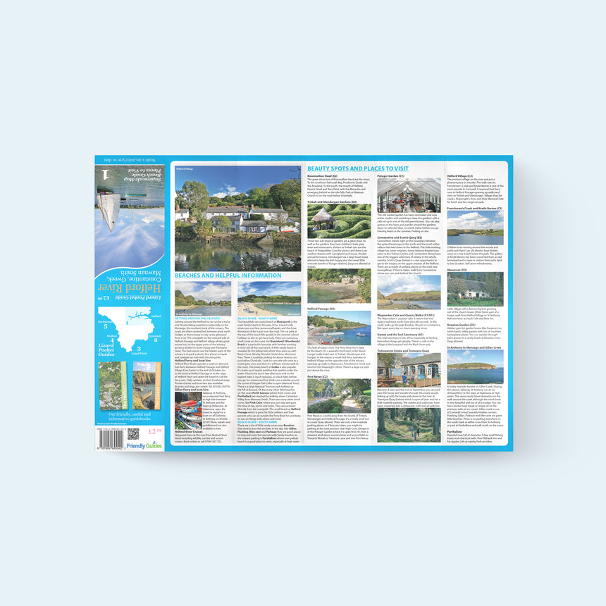 Friendly Guides Lizard Pocket Guide and map 1: Helford River places to visit