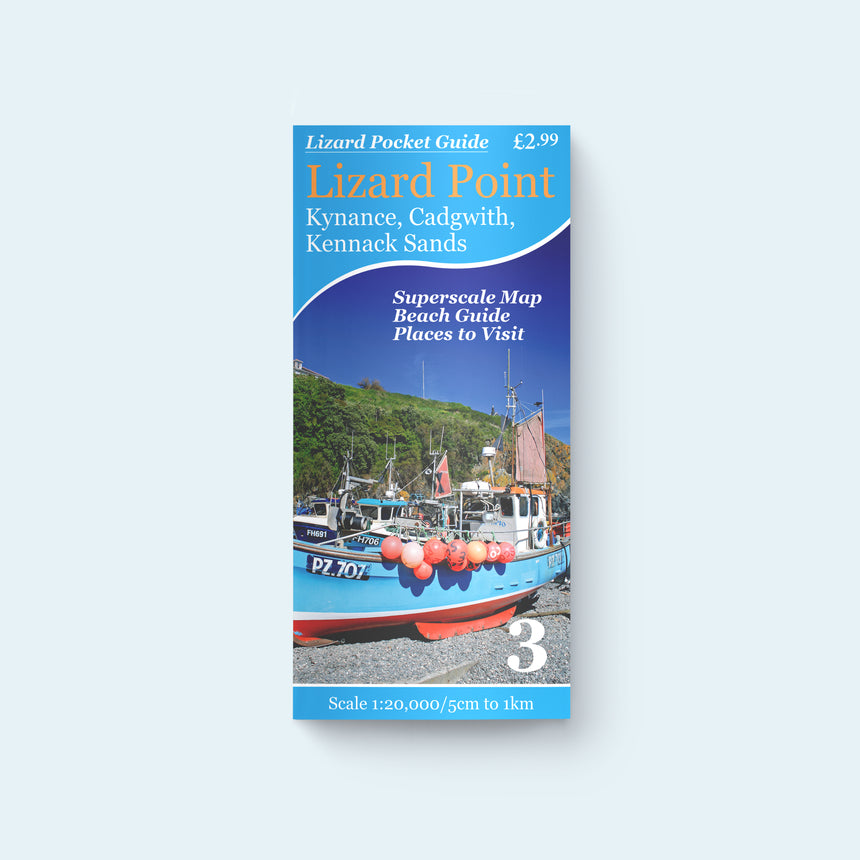 Lizard Pocket Guide 3 - Lizard Point, Kynance, Cadgwith, Kennack Sands