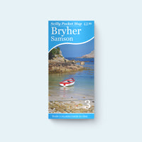 Scilly Pocket Map 3: Bryher and Samson